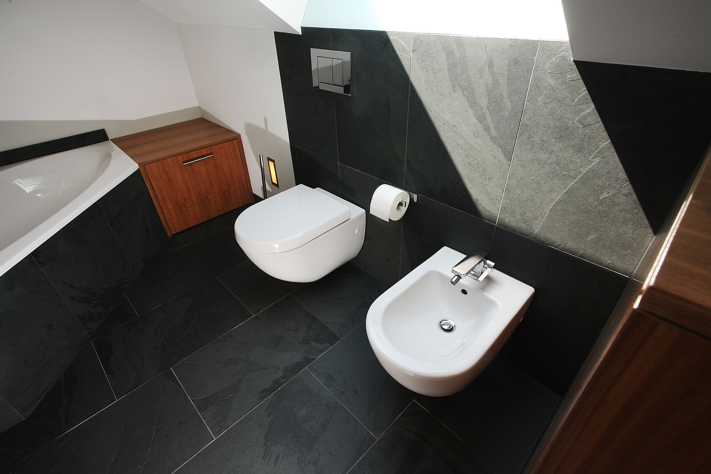 Modernes Bad Unterm Dach 2